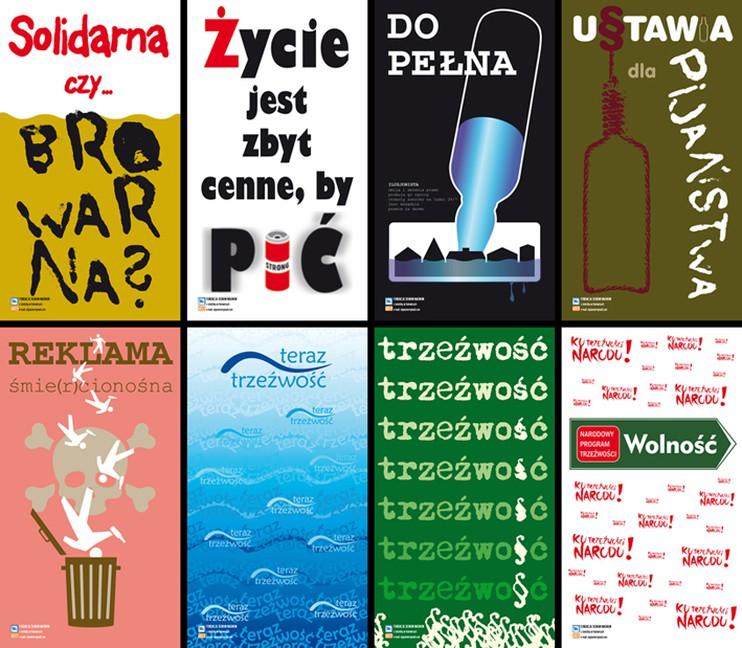 Plakaty Z Okazji Narodowego Kongresu Trzeźwości
